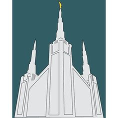 The Portland Oregon Temple. One of my favorites! #Portland #ldstemple #sharegoodness #lds #mormon #temple #ldsartist