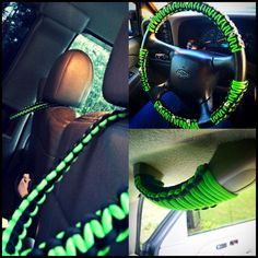 Paracord: The Ultimate Survival Tool - Way Outdoors Jeep Wrangler Yj, Jeep Xj, Paracord Knots, Paracord Bracelets, Wrangler Accessories, Truck Accessories, Paracord Projects, Diy Projects, Paracord Ideas
