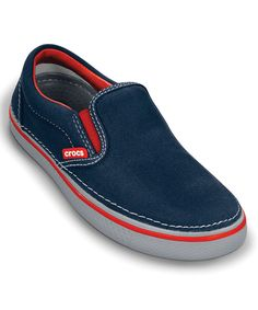Navy & Light Gray Hover Slip-On | Daily deals for moms, babies and kids