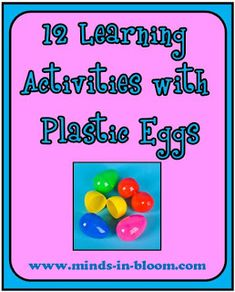 12 Activities with Plastic Eggs
