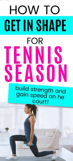 Workouts for tennis players should include ways to gain strength and speed on the court.  Build strength throughout your body in order to get a stronger serve and more consistent groundstrokes. Tennis Serve, Play Tennis, Hiit, Cardio, Tennis Rules, Cross Training Workouts, Tennis Workout, Yoga Moves, Plyometrics