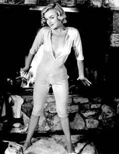 """""""Marilyn by John Florea in 1953. """""""