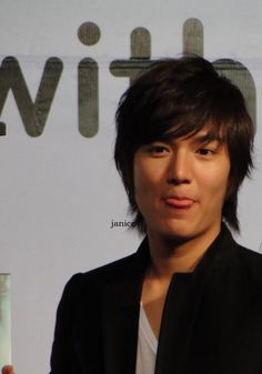 Every Photo of Korean Drama Star Lee Min Ho Sticking Out His Tongue