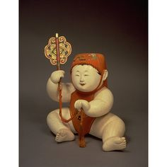 Boy with Chinese Fan; Edo Period, c. Chinese Fans, Asian Doll, Edo Period, National Museum, Antique Dolls, Kyoto, Samurai, Japanese, Traditional