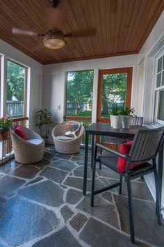 Screened Porch | Falls Church, Virginia | Ballard Mensua Architecture