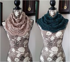 Ravelry: Tides of March Cowl DK pattern by dianedepoitiers designs