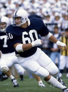 Matt Millen during his career at Penn St. Football Sites, College Football Players, Football Awards, Nfl Football, Football Humor, Soccer Humor, Ncaa College, Mlb, Fantasy Football Cheat Sheet