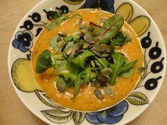 Recept: Linssoppa med sötpotatis, timjan och apelsin