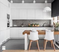 5 Ways to Optimize the Single Wall Kitchen Layout Design Kitchen Room Design, Kitchen Layout, Home Decor Kitchen, Kitchen Furniture, Kitchen Interior, Open Plan Kitchen Dining Living, Kitchen Sets, New Kitchen, Luxury Kitchens
