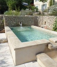 1000 images about et une piscine on pinterest for Bassin piscine pierre