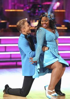 Derek Hough & Amber Riley  -  Dancing with the Stars  -  Week 2  -  season 17  -  fall 2013