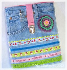 Lace! Ribbons! Denim! An iPad case for the YM-magazine reading 1997 teenager in all of us.