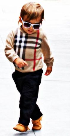 Mase should be every mothers fashion idol for their children.