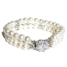 vintage bracelets   Audrey Vintage Pearl Bracelet from Divine Destiny   Made By Divine ...