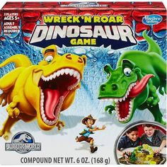 Jurassic World Play-Doh Wreck 'n Roar Dinosaur Game