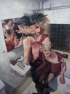 Paintings by Adam Lupton
