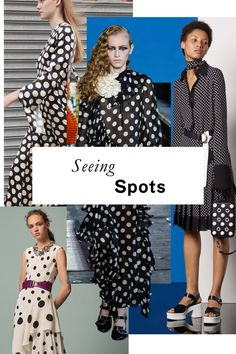 Whether itty-bitty Swiss dots or generous spots the size of silver dollars, Resort's print of choice has quirky charm to spare.