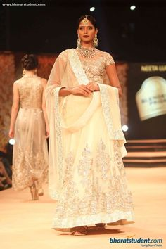 Lengha by Neeta Lulla at Blenders Pride Fashion Tour 2014