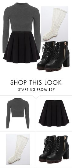 """""""why don't you speak it out loud instead of living in your head"""" by avalicioux ❤ liked on Polyvore featuring Topshop and Polo Ralph Lauren"""