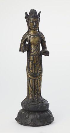 Standing Kannon  ARTIST:Artist Unknown, Japanese DATE:7th century    The Minneapolis Institute of Arts