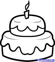 Как нарисовать торт из символов