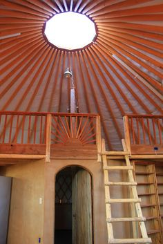 kheymah- southwest adobe yurt home