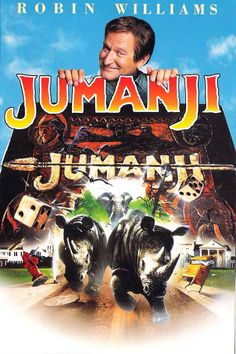 Jumanji(8/1/12)☆☆......no matter how many scary movies I see in my life, this movie will always scare the living daylights out of me. Those drums mean trouble.