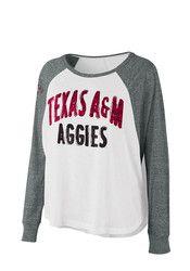Texas A&M Womens Triple A White T-Shirt