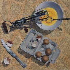Original Still Life Painting by Vicky Riley Food Illustrations, Illustration Art, Art Prints Online, Still Life Art, Photorealism, Art Themes, Artist At Work, Art For Sale, Food Art
