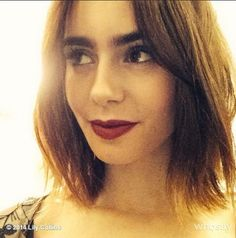 lily collins eyebrows - Google Search
