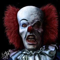 Devil clown Pennywise by Shaytan666.deviantart.com on @deviantART