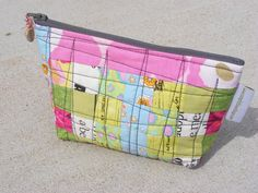Quilted Zipper Pouch by campfollowerbaglady on Etsy, $15.00