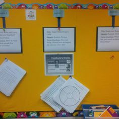 Investigation wall_ example includes students work attached at the bottom.