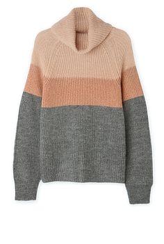 Country Road Metallic Stripe Knit