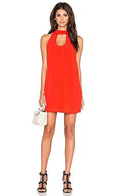 Lovers + Friends x REVOLVE Beautiful Escape Dress in Red Orange