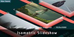 Isometric Slideshow My YouTube goo.gl/Z6cjqi Alliexpress goo.gl/llCW1o #Envato #Videohive #aftereffects #Slideshow