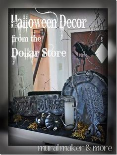 Halloween decorations :Halloween Décor from the Dollar Store