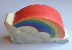 Soapstash's rainbow soap
