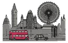 """Free embroidery design """"London""""free embroidery designs 