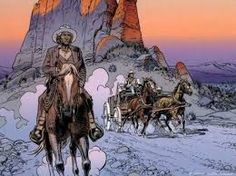 One of France's best-known cartoonist and comic book creators, Jean Giraud, has died in Paris after a long-illness. Giraud, also known under the names Moebius and Gir, was the creator of the… Jean Giraud, Comic Book Artists, Comic Artist, Comic Books, Long John Silver, Western Comics, Western Art, Moebius Artist, Moebius Comics