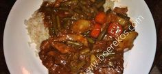 Meat Recipes, Chicken Recipes, Cooking Recipes, Lamb Cuts, South African Recipes, Meat Chickens, Stew, Food To Make, Nostalgia