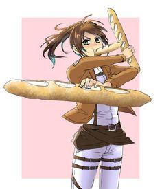 Sasha Brause aka. Potato Girl from Attack on Titan (Shingeki no Kyojin)