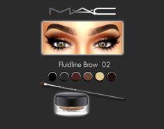 Sims 4 CC's - The Best: Eyebrows by MacCosimetics