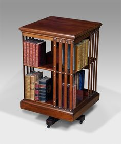Antique Revolving Bookcase