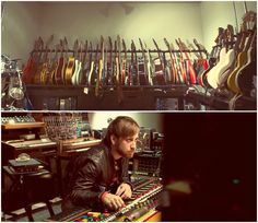 I'm Dan and those are my guitars.