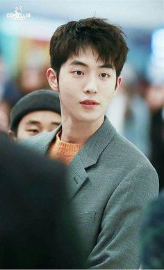 This handsome man😍 Korean Celebrities, Korean Actors, Asian Actors, Drama Korea, Korean Drama, Nam Joo Hyuk Cute, Nam Joo Hyuk Wallpaper, Korean Men Hairstyle, Hair Styles Korean Men