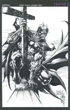 Batman by David Finch and Danny Miki