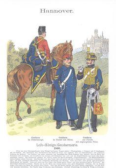 Band XII #39.- Hannover. Leib-(Königs-) Gendarmerie. 1866.