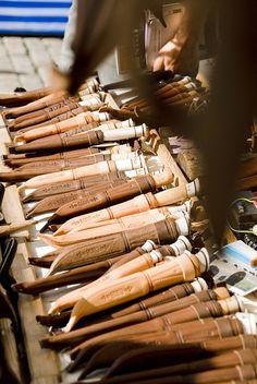 Finnish knives at Market