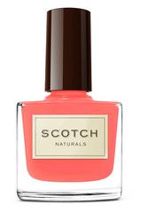 Scotch Naturals nail varnish from| a-thread - love this bright clear coral shade